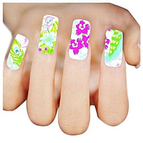Buy Zlime Fashion Woman 3d Design Nail Art Stickers Tips To