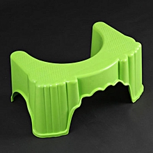 Toilet Stool Squatty Potty Chair Plastic Non-slip Bathroom