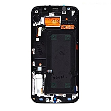 Lcd Screen With Frame Touch Screen Lcd Display Complete Screen Assembly Replacement Parts Blue For Samsung Galaxy S6 Edge Plus