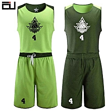 Men's Customized Team And Numbers Basketball Sport Jersey Uniform-Green(JY-1613)