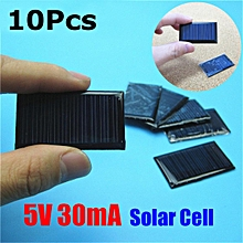 10Pcs/Lot 5V 30mA 53X30mm Micro Mini Small Power Solar Cells Panel For DIY Toy