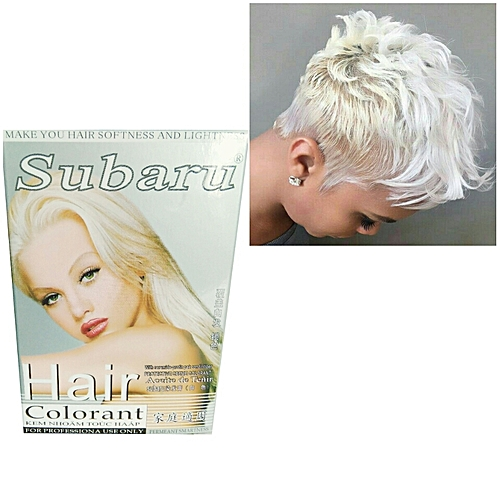 subaru Subaru Hair Colorant (White) 3Pcs -192Ml. @ Best Price Online ...