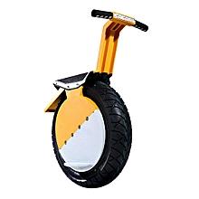 One-Wheel Motorcycle 17inch Vacuum Tire Self Balance With LED Headlight-