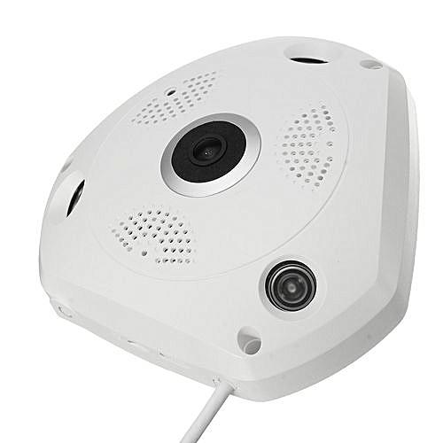 Wireless 360 Degree Camera Fisheye Panoramic 960P P2P Wifi Network IP VR  Camera
