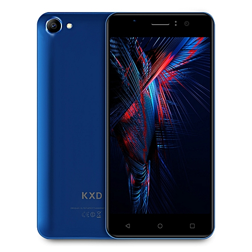 W50 3G Smartphone MTK6580 Quad Core 1.3GHz 1GB RAM 8GB ROM - BLUE