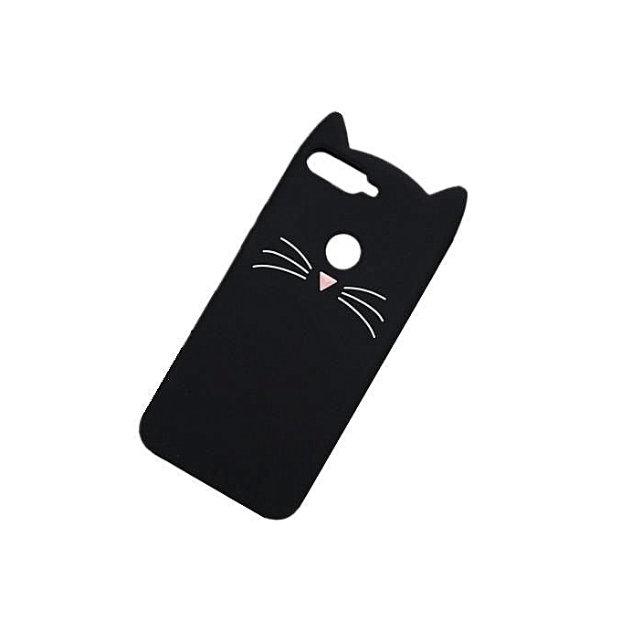 reputable site c7516 a5dab Phone Case For Huawei Nova 2 Lite ,Lucky Cat Fortune Cat Black & White  Kitty Silicone Rubber Phone Case Cover For Huawei Nova 2 Lite
