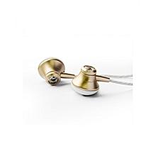 In-Ear Wired Earphones - Gold