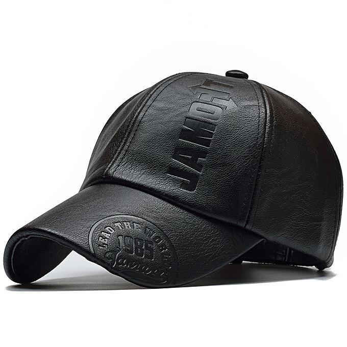 013183fbcd2c [NORTHWOOD] 2018 High Quality Winter Cap PU Leather Baseball Cap Men  Snapback Hat Casquette Gorras Para Hombre Mens Trucker Cap