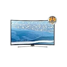 """55NU7300 - 55"""" - 4K Curved UHD Smart LED TV - Black"""