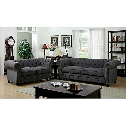 The Best Places To Buy Quality Cheap Furniture Online: Buy Superior Furniture Chester Sofa 5 Seater (3-2) Grey