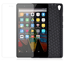 Lenovo P8 ( TAB3 8 Plus ) Soft Back Case + Screen Film Accessories Packs - Black