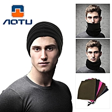 AOTU AT8723 Fleece Head Scarf Double Warm Collar Movement AgainstThe Hood Winter Multifunctional