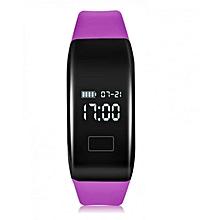 H3 - Smart Bracelet Pedometer Call/SMS Reminder Sedentary - Purple