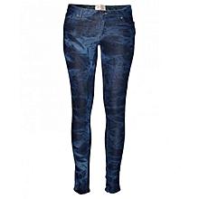 Dark Blue Kids Pants