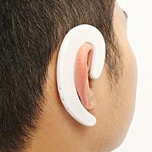 bone conduction bluetooth headset-white