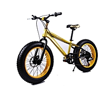 "16"" Yellow Fat Tire Mountain Bike"