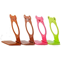 Bluelans Animal Mobile Cell Phone Holder Folding Wall Charging Station Stand