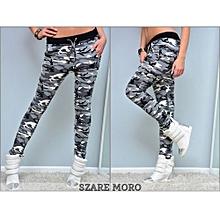 Suitable Hot Women's Camouflage Skinny Leggings Stretch Slim Leggings Pencil Pants Trousers