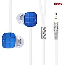 Somic L1 Bass HiFi In-ear Earphones 1.2m TPE Noodle Cable