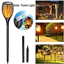1pcs LED Flickering Landscape Lamp Dancing Flame Solar Torch Garden Light
