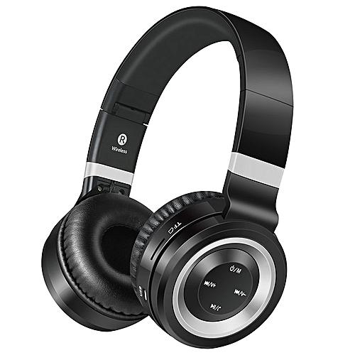 Lunar series Bluetooth headphones - Black/Silver