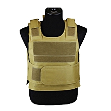 Outdoor  Lightweight Training Vests Bulletproof Vest CS Clothes Protective Eequipment