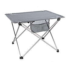BRS-Z33 Portable Folding Table Ultralight Aluminum Alloy Waterproof Outdooors Camping Picnic Desk