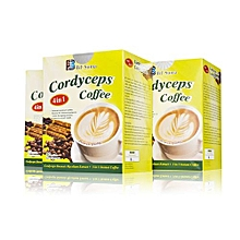4 in 1 Cordyceps Coffee, Cordyceps Extract, Vegan-20 Sachets