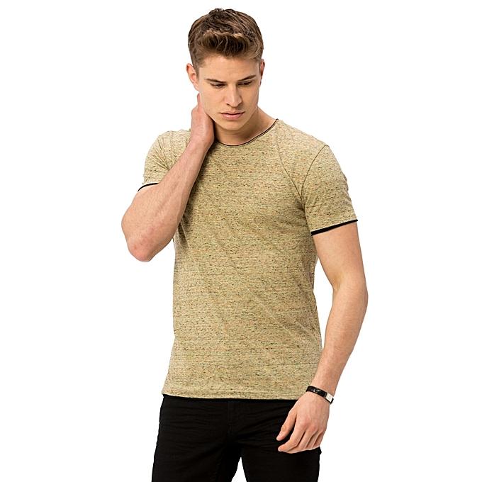 Jungle Green Printed Fashionable T-Shirt