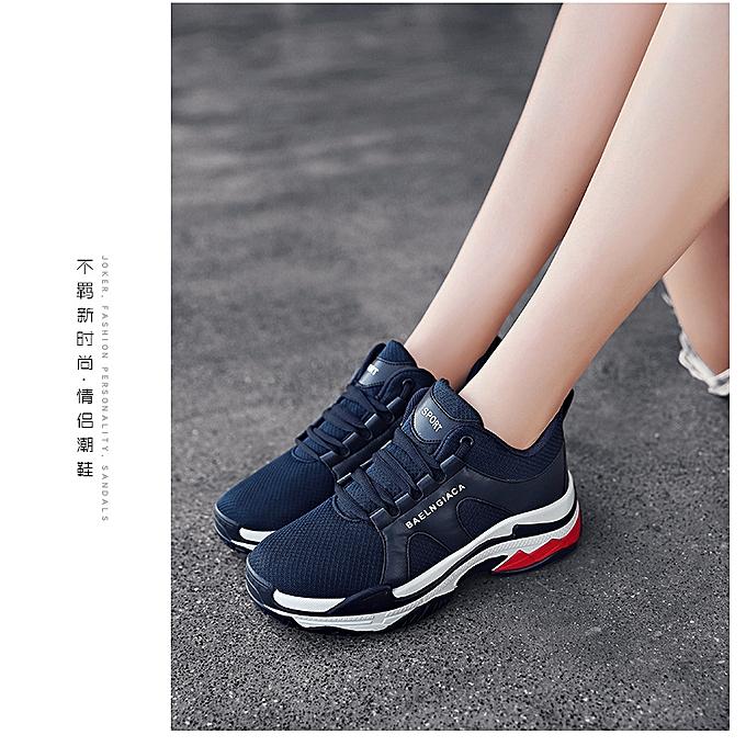 a5527614 ... Men's Women's Trendy Shoes Light Couple's Net Fashion Leisure ...