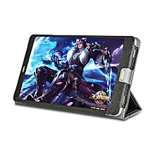 Cover Case for Teclast T8 8.4 inch Superior PU Leather Full Coverage Stand Protective - Black