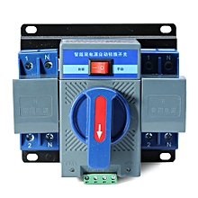 New 1Pcs 63A 2P 50HZ/60HZ Dual Power Automatic Transfer Switch 150×137×118mm