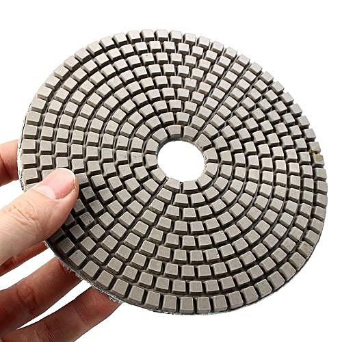 5 Inch 3000 Grit Model Wet Dry Diamond Polishing Pads Sanding Disc Concrete  Granite Glass Marble