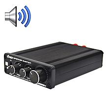 A928 Treble-bass 136W High-power Amplifier(Black)