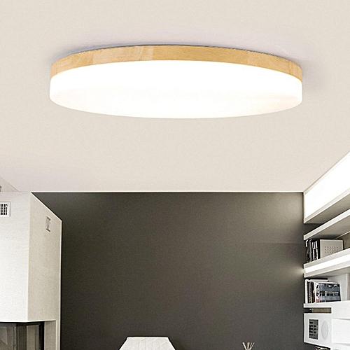 Generic Modern Simple Square Wood Led Ceiling Light Living Room