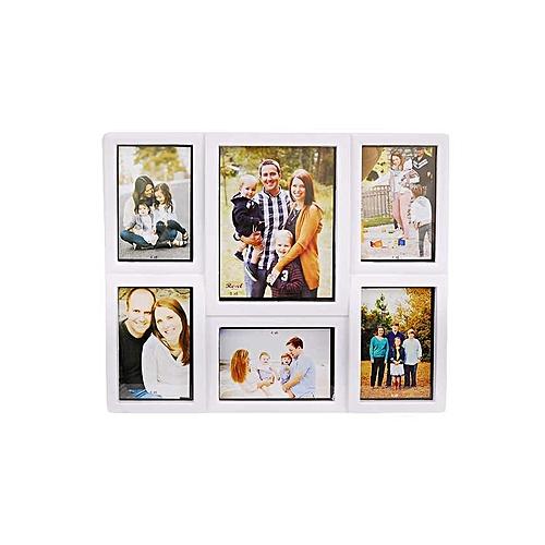 Family Photo Frame 6 Portion 4 6 White Jumia Kenya