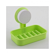 Suction Type - Bathroom Soap Dish - Green