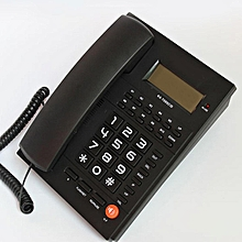 New White Desktop Home Business Office Corded Phone Telephone Hands Free