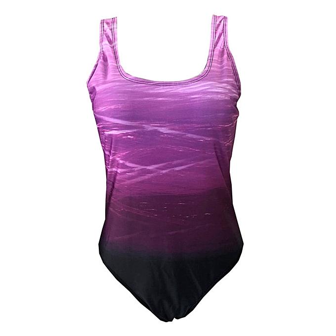 Buy Fashion Hiamok Womens Swimming Costume Padded Swimsuit Monokini