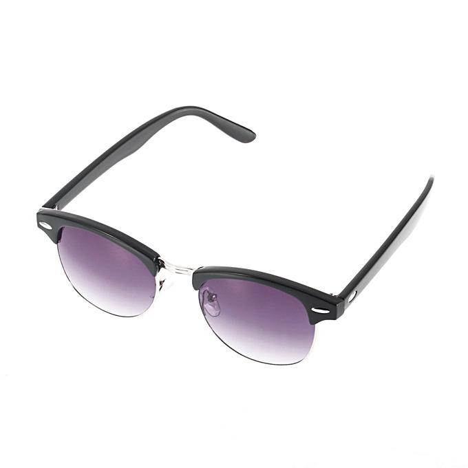 2a06226d9f Allwin Retro Half Frame Shades Style Classic Frame Sunglasses Summer ...