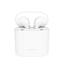 HBQ TWS In-ear Bluetooth Wireless Earphone Headsets 2 Pieces with Charging Pod - White