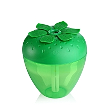 Strawberry Home Aroma LED Humidifier Air Diffuser Purifier Atomizer Green