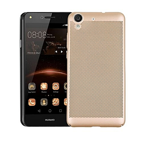 competitive price eaf4c d6fa0 Dotted Heat Dissipation Case Cover For Huawei Honor 5A / Y6 II (Color:c0)
