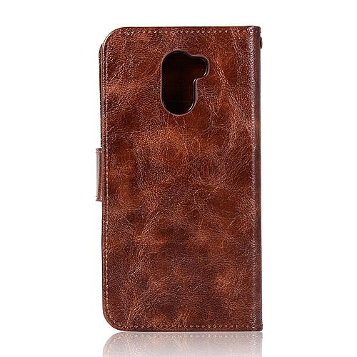 wholesale dealer 22c5a 21069 Casing For Xiaomi Redmi 4 ,Reto Leather Wallet Case Magnetic Double Card  Holder Flip Cover