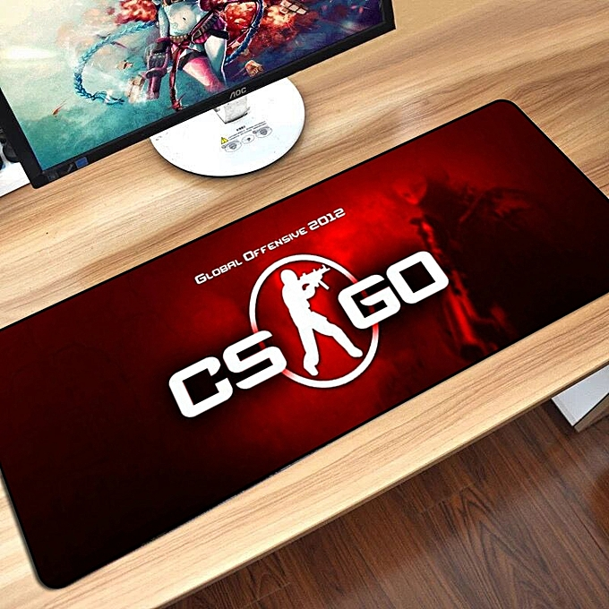 Large Gaming Mouse Pad Mat for CS GO Hyper Beast AWP Boyfriend Gifts Gamer  Big Computer Mousepad Game for Csgo Muismat 80*30 cm TAKAL