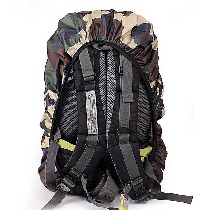 ... 30-40L Backpack Rain Cover Waterproof Protective Bag Cover Camping Mud  Dust Rainproof Protector ... 227dc32f7beee