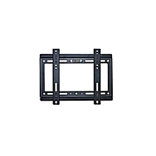 "TV Wall Bracket 14-42"" Inch - Black."