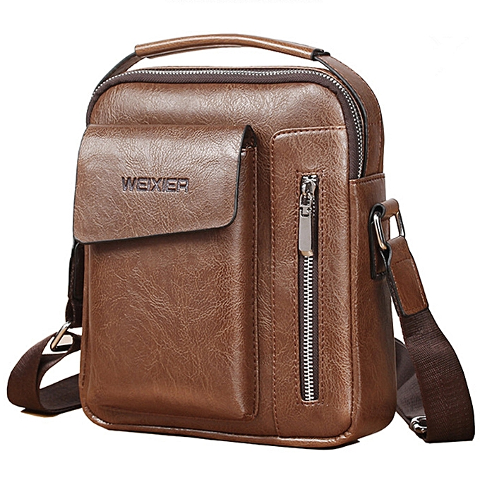 2f944a36a99c High Quality Wear-resistant Leather Men s Handbag Retro Bag Shoulder Bag  Messenger Bag Men s Bag