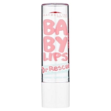 Baby Lips Dr. Rescue Intense Care Lip Balm with Eucalyptus, Shea Butter & Menthol - CORAL CRAVE
