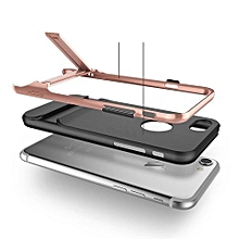 """ROCK Luxury Royce Case For IPhone 7 4.7"""" Inch Bracket Slim Armor Cover Shell For Apple Back Cover(Rose Gold)"""